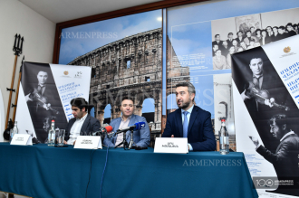 Press conference dedicated to the 7th Khachaturian 