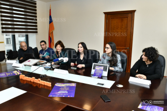 Press conference on Armenia's achievements recorded within 