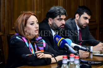 Press conference of Armenia's delegation to EuroNest