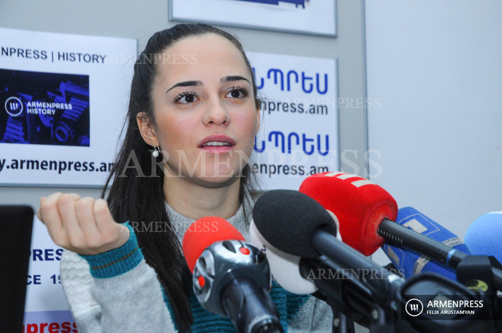 Civil Aviation Committee head Tatevik Revazyan's news conference