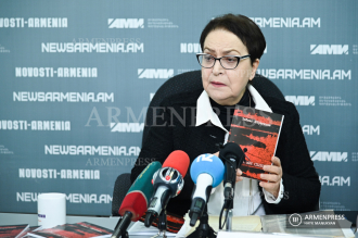 Press conference dedicated to memory of Armenian massacres 