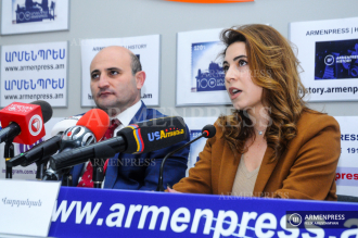 Press conference of Chairman of Armenian Tourism Federation 