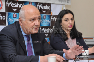 Armenian Genocide Museum Institute Director Harutyun 