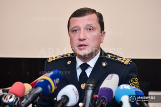 SRC Anti-Smuggling chief Colonel Vardan Vardanyan's press 