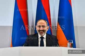 Press conference of Armenian PM Nikol Pashinyan