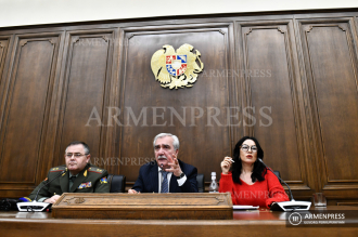 Chief of General Staff of Armenian Armed Forces Artak Davtyan 