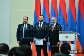 Prime Minister Nikol Pashinyan participates in awarding 