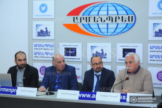 Press conference on research about animal attack incident in 