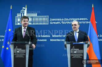 Armenian and Slovak FMs hold joint press conference in 