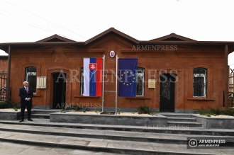 Official opening of Embassy of Slovakia in Armenia