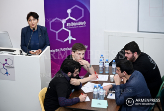 First student competition in chemistry held in Yerevan