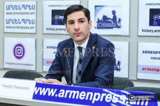 Governor of Ararat Garik Sargsyan's news conference