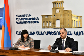 Press conference of Gegham Gevorgyan, head of the State 