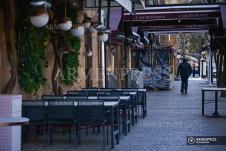 Cafes, restaurants shut down in Armenia to fight COVID-19 
