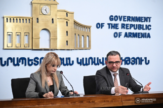 Minister of Economy Tigran Khachatryan's news briefing