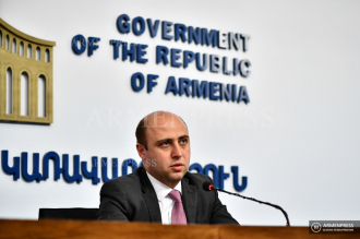 Press conference of Bagrat Badalyan, advisor to deputy PM 