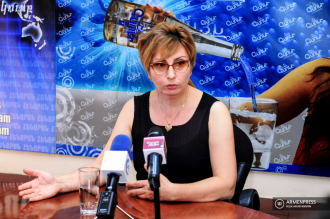 Press conference of education expert, lecturer Armine Davtyan