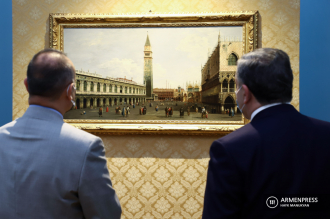 Exhibition of works by Italian painters opens in Armenian 