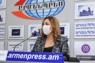 Press conference of representative of the National Center for 