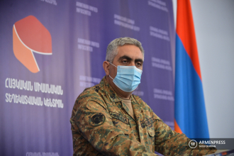 Armenian military representative Artsrun Hovhannisyan's news 
