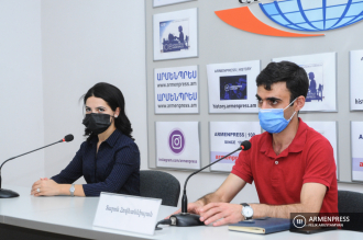 Press conference of experts in Azerbaijani studies Tatev 