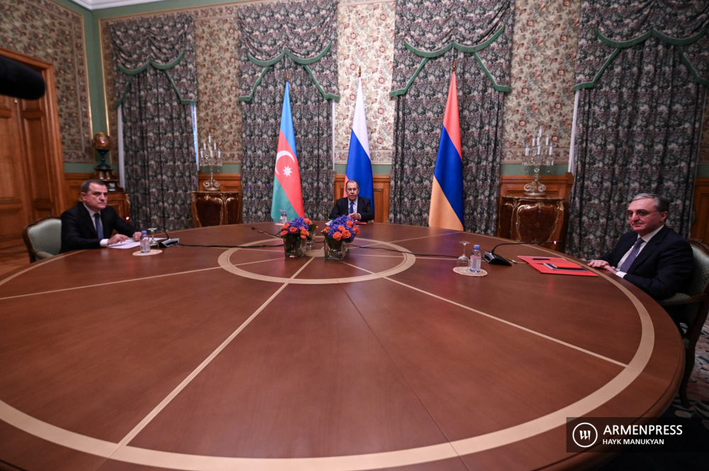 Negotiations of Armenian, Russian and Azerbaijani Foreign Ministers over NK conflict in Moscow