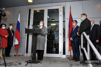 Russian Minister of Health and Rospotrebnadzor executive visit 