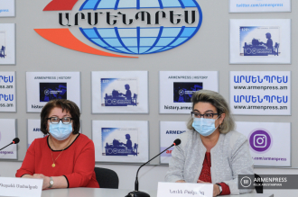 Press conference of deputy director generals of National Center 