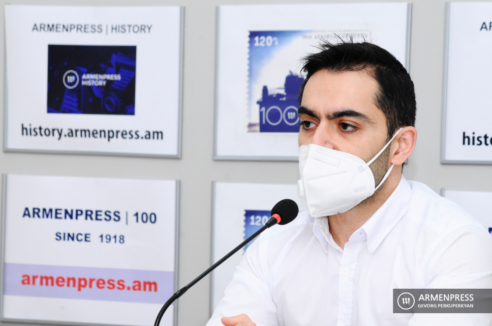 Press conference of Gevorg Hayrapetyan, head of Personal Data Protection Agency of justice ministry
