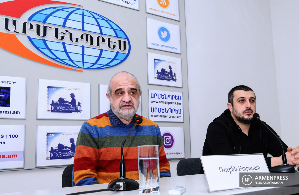 Yerevan State Puppet Theater's news conference on 2021 program