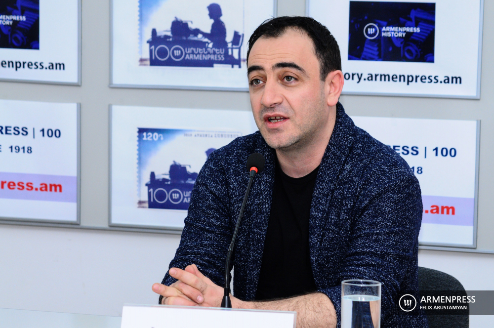 Gyumri Drama Theater news conference