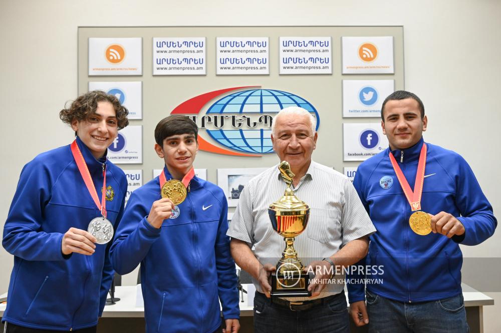 2 ոսկե, 2 արծաթե, 1 բրոնզե մեդալ. Բռնցքամարտիկներն ամփոփում են Եվրոպայի առաջնությունը